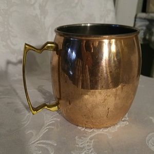 Other - Copper Mug w Brass Handle